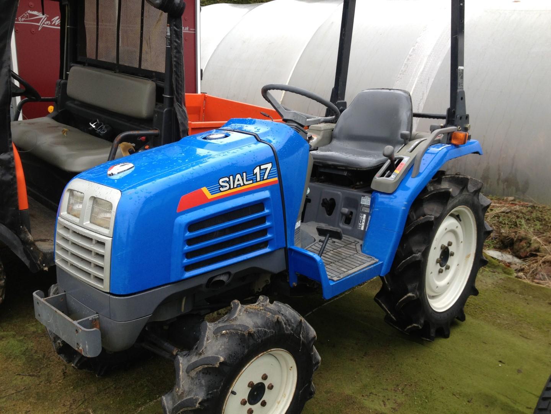 Iseki Diesel Tractor : Sial like iseki compact tractor very clean diesel
