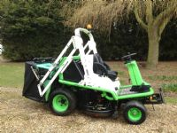 SOLD!!! ETESIA 124D RIDE ON HIGH TIP MOWER