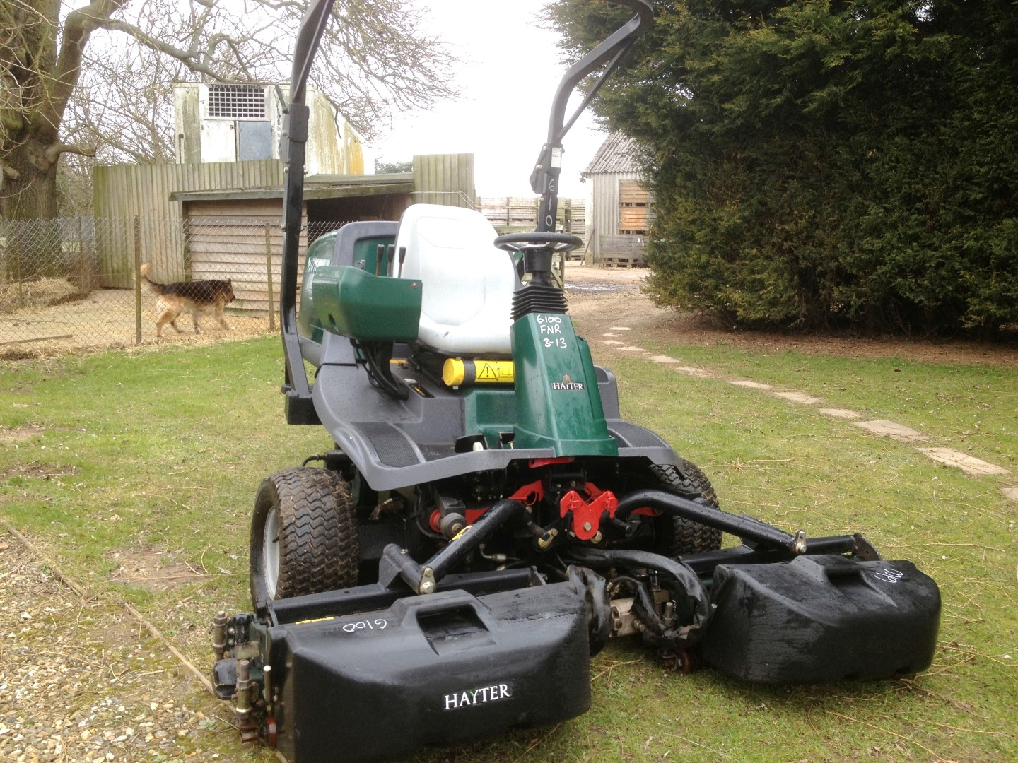 SOLD!!! HAYTER MT313 TRIPLE RIDE ON MOWER