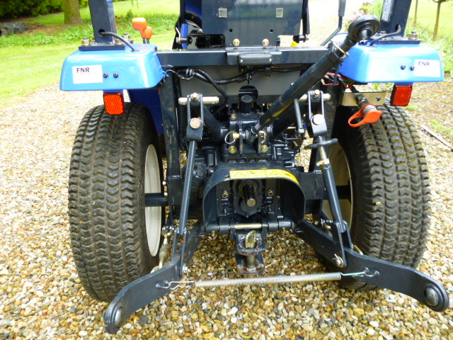 SOLD!!! ISEKI COMPACT TRACTOR RIDE ON DIESEL
