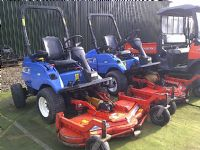 SOLD!!! NEW HOLLAND MC 28 OUTFRONT RIDE ON MOWER