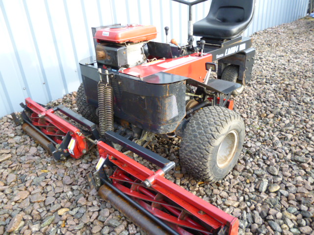 SOLD!!! SAXON LM184 RIDE ON MOWER BARONESS