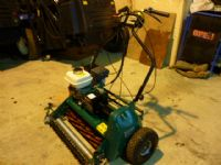 SOLD!!! RANSOMES SUPER CERTES 61 WALK BEHIND MOWER
