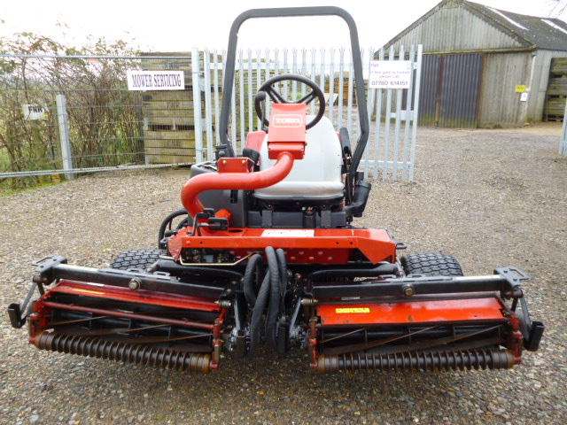 SOLD!!! TORO RM3100D RIDE ON CYLINDER MOWER