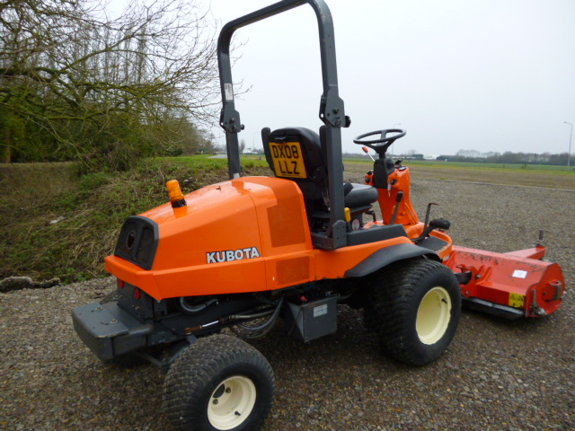 SOLD!!! KUBOTA F3680 FLAIL DECK MOWER DIESEL 2008