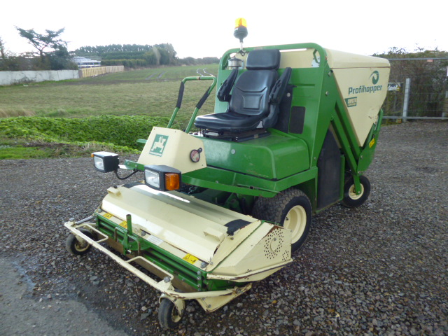 SOLD!!! AMAZONE PROFIHOOPER ZERO TURN FLAIL MOWER