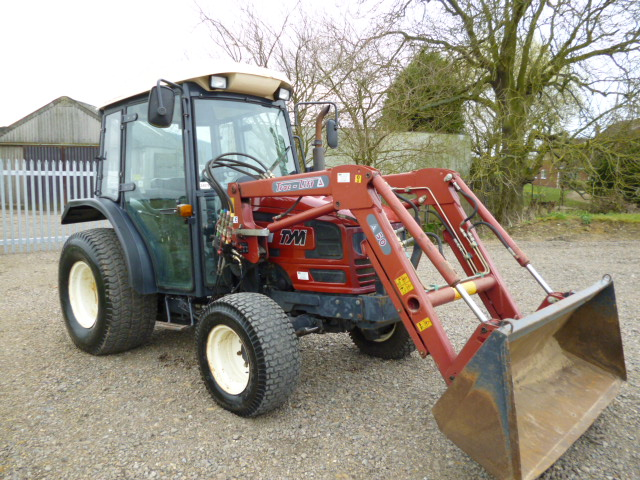 SOLD!!! TYM T431 TRACTOR WITH TRACLIFT 50 FRONT LO