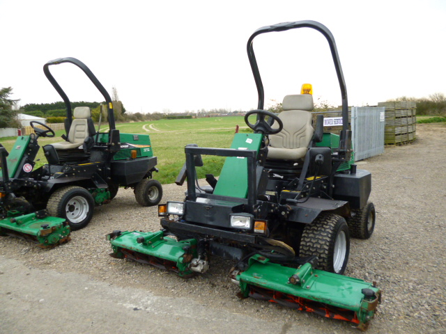 SOLD!!! RANSOMES 2130 RIDE ON MOWER