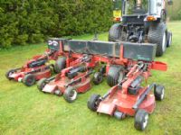 PROGRESSIVE PROFLEX 120 ROTARY Tractor Gang Mower+
