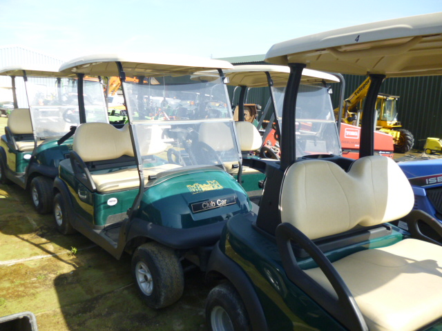 SOLD!!! CLUB CAR GOLF BUGGY 2011 USED ELECTRIC CAR