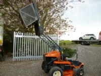 SOLD!!! KUBOTA GZD21 ZERO TURN HIGH TIP MOWER