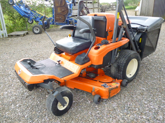 Sold Kubota Gzd21 Zero Turn High Tip Mower For Sale