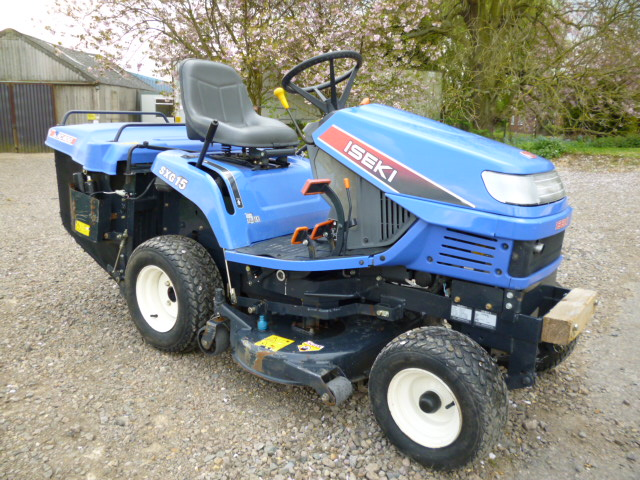 SOLD!!! ISEKI SXG15 HYDRO LOW DUMP TIP RIDE ON MOW