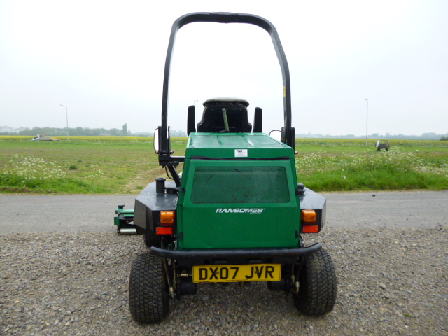 SOLD!!! RANSOMES HIGHWAY 2130 DIESEL 4WD TRIPLE