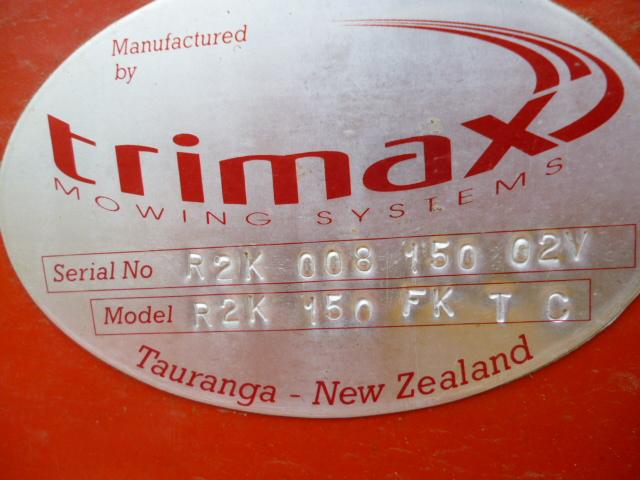 SOLD!!! TRIMAX ROTADECK 150 MOWER DECK