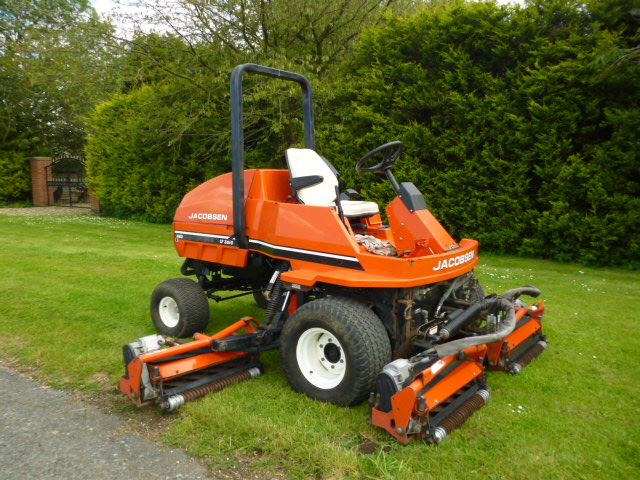 SOLD!!! JACOBSEN 3810 5 GANG FAIRWAY MOWER