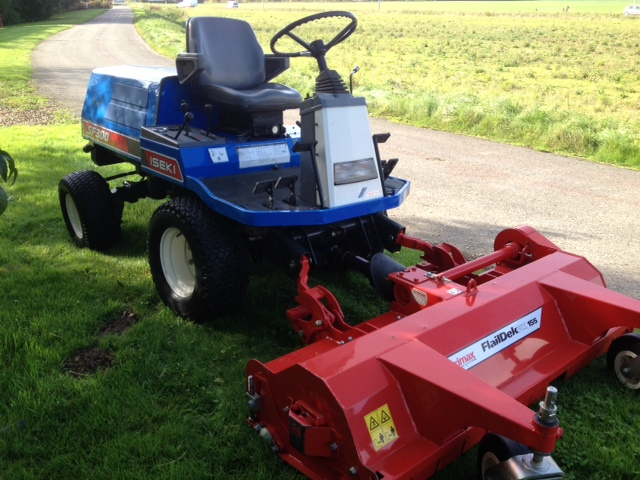 SOLD!!! ISEKI SF300 DIESEL HIGH TIP RIDE ON MOWER