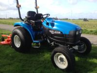 SOLD !NEW HOLLAND TC270D  COMPACT TRACTOR