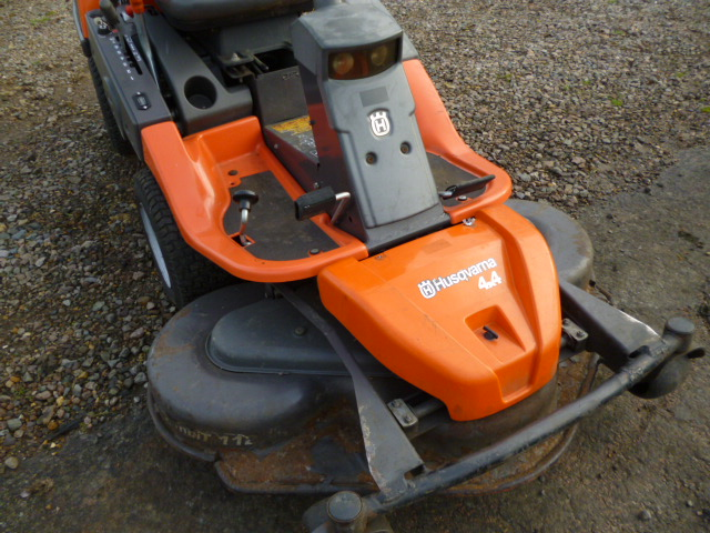 SOLD!!! HUSQVARNA ROTARY AND FLAIL MOWER