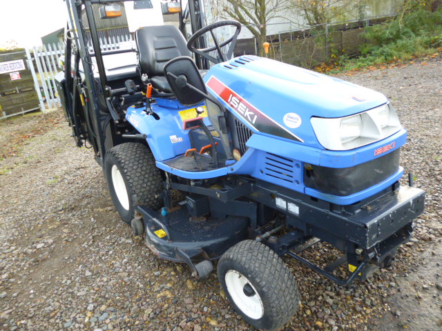 SOLD!!! ISEKI SXG19 HIGH TIP COLLECTOR MOWER