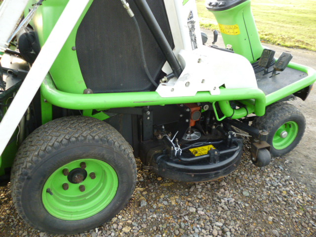 SOLD!!! ETESIA 124D RIDE ON COLLECTOR MOWER