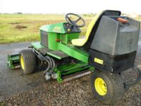 SOLD!!! JOHN DEERE 2653A TEES MOWER DIESEL