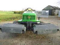 SOLD!!! JOHN DEERE 2653A RIDE ON TEES MOWER