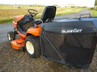 SOLD!!! KUBOTA G18 LOW DUMP COLLECTOR MOWER