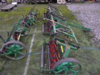 SOLD!!! LLOYDS 5 GANG TRAILED MOWER