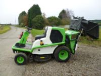 SOLD!!! ETESIA 124D DIESEL MOWER COLLECTOR