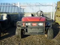 SOLD!!! TORO WORKMAN OF 2 UTILITY RIDE ON NEW BATT