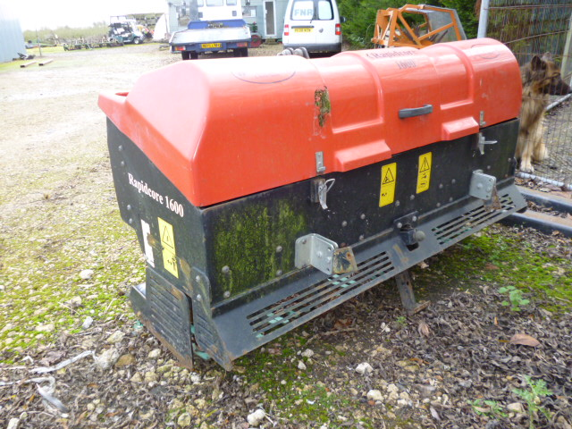 SOLD!!! RAPID CORE 1600 TRACTOR  3 POINT LINKAGE