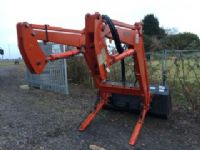 SOLD!!! KIOTI DK901C TRACTOR WITH LOADER 4X4