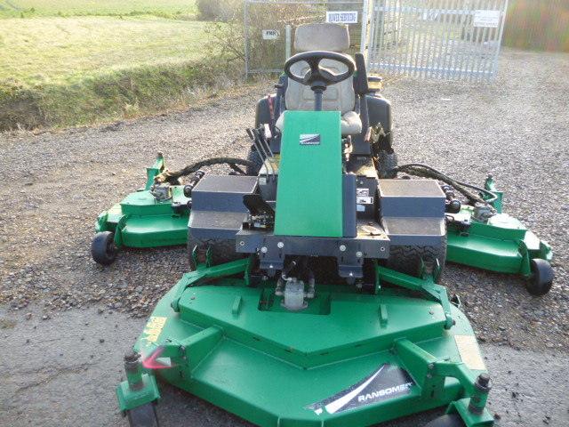 SOLD!!! RANSOMES HR6010 BATWING MOWER TRADE IN