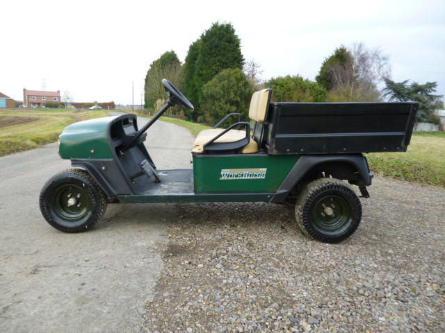 SOLD!!!  EZGO UTILITTY BUGGY TIPPER PETROL
