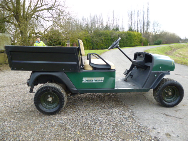 Sold Ezgo Utilitty Buggy Tipper Petrol For Sale Fnr