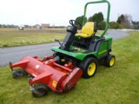 SOLD!!! JOHN DEERE 1445 5FT OUTFRONT MOWER 4X4 YAN