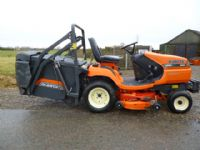 SOLD!!! KUBOTA G21 HIGH DUMP COLLECTOR MOWER