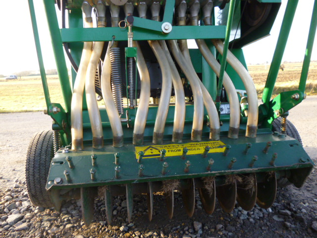 SOLD!!! RANSOMES RYAN MATAWAY OVER SEEDER