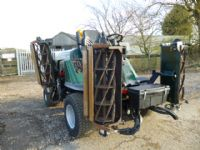 SOLD!!! HAYTER L424 RIDE ON GANG CYLINDER MOWER 4W