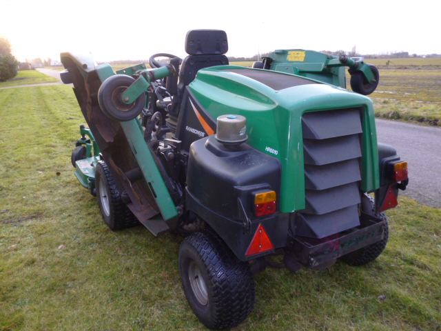 SOLD!!! RANSOMES HR6010 BATWING RIDE ON MOWER