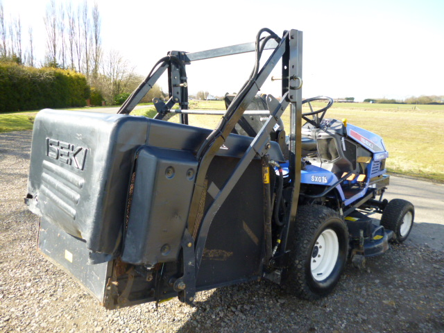 SOLD!!! ISEKI SXG19 DIESEL HIGH TIP RIDE ON MOWER