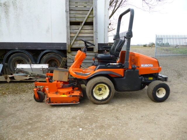 SOLD!!! KUBOTA F3680 OUTFRONT ROTARY RIDE ON MOWER