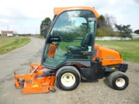 SOLD!!! KUBOTA F3680 FRONT RIDE ON MOWER CAB