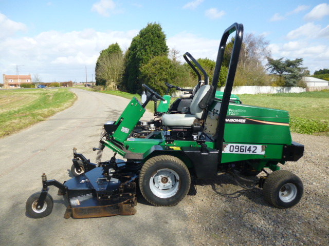 Ransom Mower Seats : Sold ransomes d wd outfront mower for sale fnr