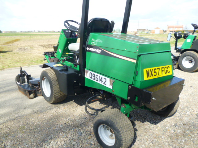 SOLD!!! RANSOMES 728D 4WD OUTFRONT MOWER