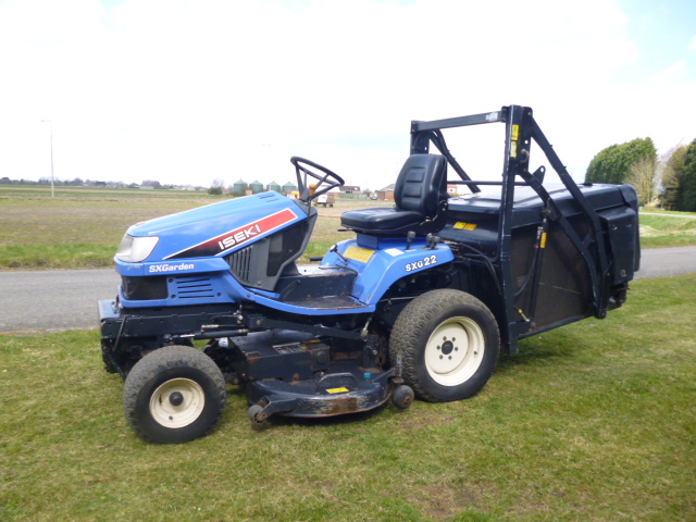 SOLD!!! ISEKI SXG22 DIESEL HIGH TIP RIDE ON MOWER