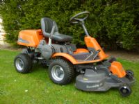 SOLD!!! HUSQVARNA R16C RIDE ON MOWER AWD 4X4