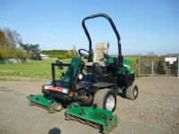 SOLD!!! RANSOMES 2130 ON DIESEL MOWER TRIPLE GANG