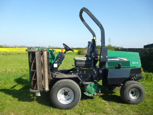 SOLD!!! RANSOMES 2250 PLUS RIDE ON DIESEL MOWER